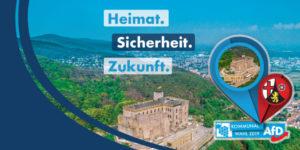 Heimat, Sicherheit, Zukunft - Kommunalwahl - AfD Rhein Hunsrück
